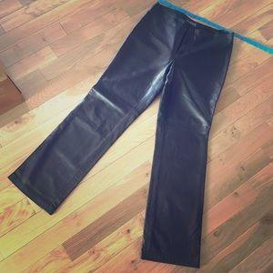 Black Leather Pants💥sz10